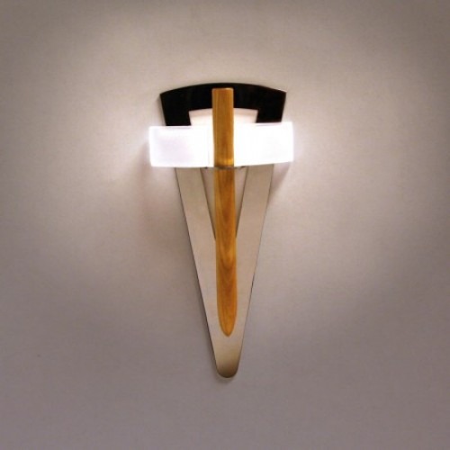 Светильник Cariitti Факел TL-100 с деревянным стержнем