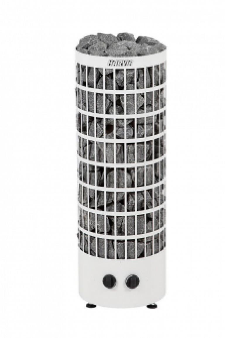 ЭЛЕКТРИЧЕСКАЯ ПЕЧЬ HARVIA CILINDRO PC70 WHITE 6.8 КВТ (ВСТРОЕННЫЙ ПУЛЬТ)