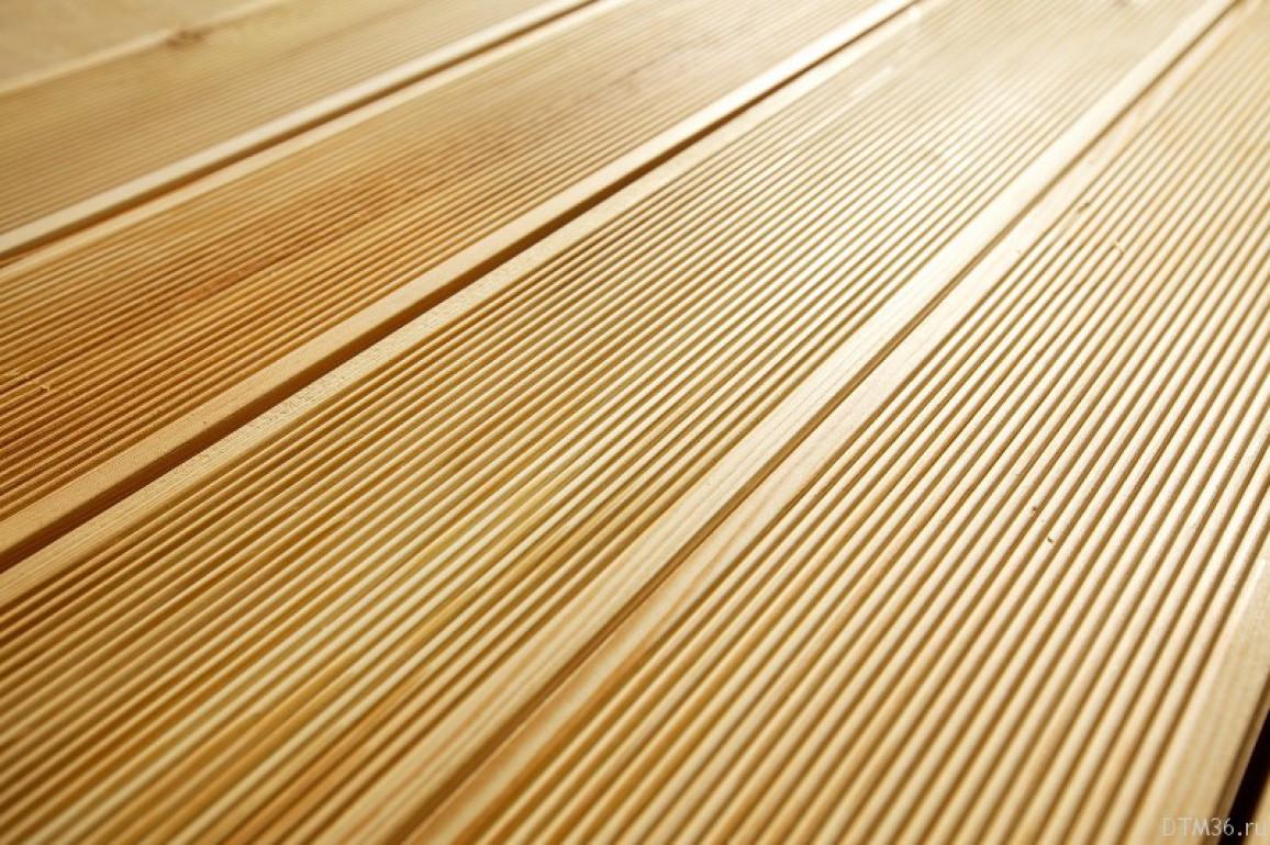 Террасная доска из лиственницы 30х140 мм. кат. АВ 4,0 м